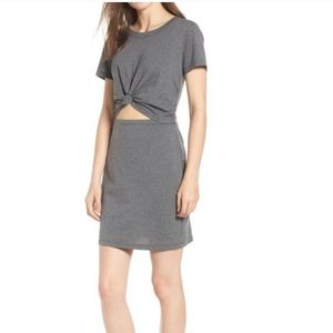 Front tie cut out dress NWT